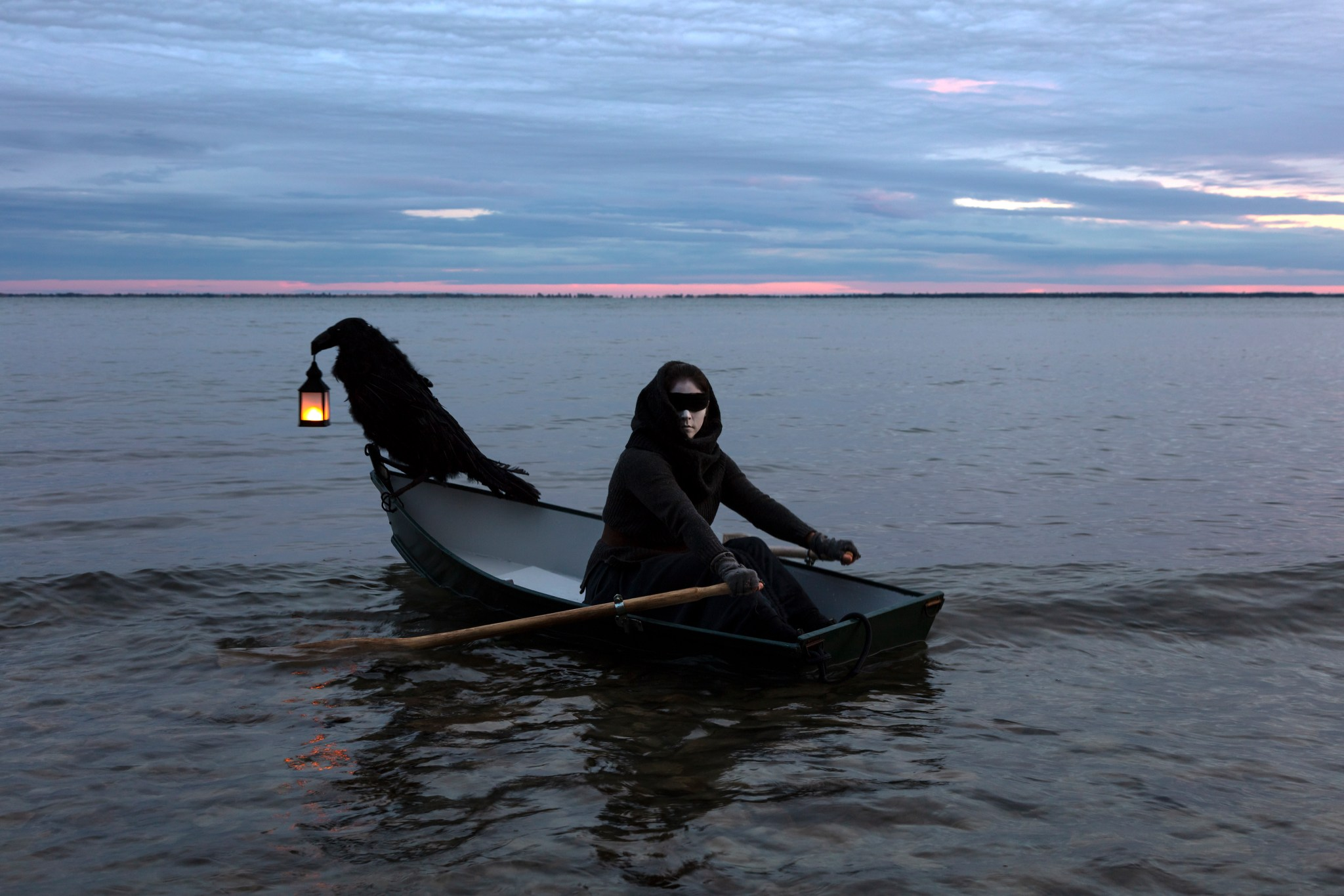 There Are No Footprints Where I Go by Meryl McMaster
