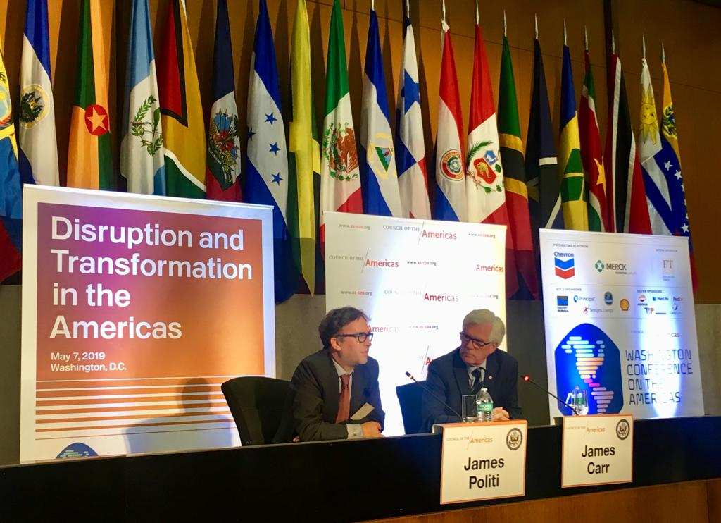 Canada at the 49th Washington Conference on the Americas: exchanging